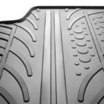 Gumowe dywaniki samochodowe vs dywaniki welurowe - które są lepsze