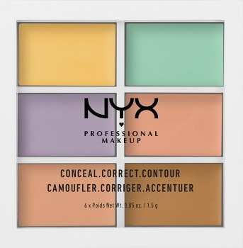 NYX Make Up paleta corectoare