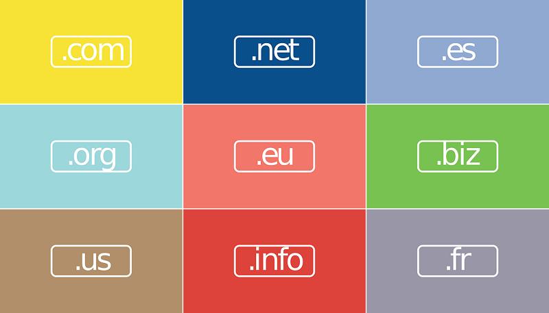 Rejestracja domeny .com, .net, .eu, ...